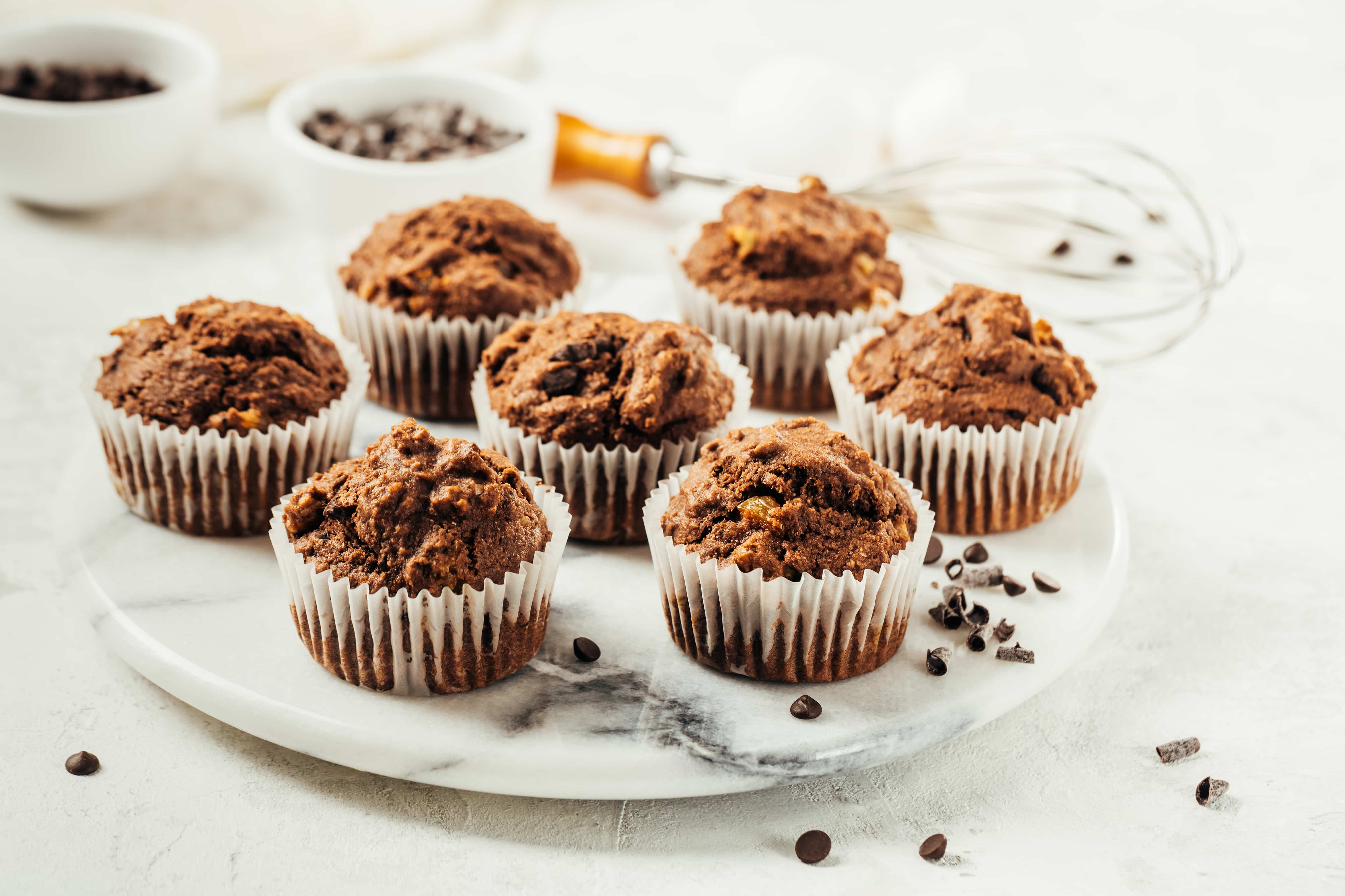 How to Convert a Quick Bread Recipe Into Muffins